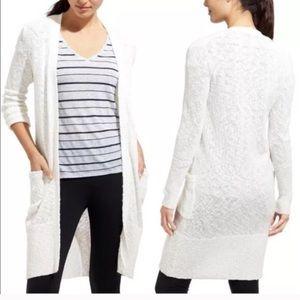 NWOT Athleta Cream Wrap Cardigan Sweater